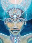 Blue Womb Matrix- detail