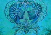 Twin Flames- detail