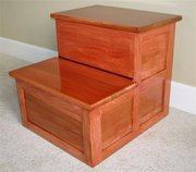 Faux Cherry Bedside Step 01