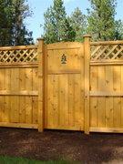Cedar Privacy Fence 01