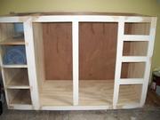 Vanity base cabinet
