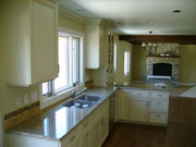 Display Cabinets and Antique Kitchen