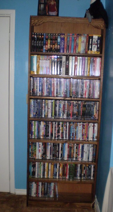 oak dvd shelf for adam