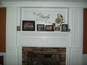 Mom's Fireplace