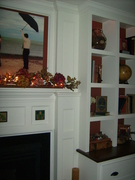 Fireplace right side