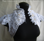 THE SWAN PRINCESS Wedding or Special Occasions Lacy Bolero
