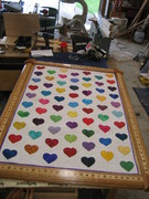 Frame with Cancer Quilt