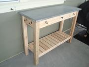 Zinc-Top BBQ Sideboard