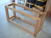 Skeleton frame using Kreg jig