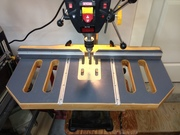 Drill press table finished.