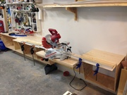New mitre saw station coming together.