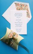 Italiano Letterpress Wedding Invitation Design