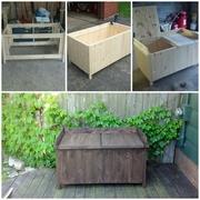 Lowe's deck box