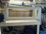 Window bench frame
