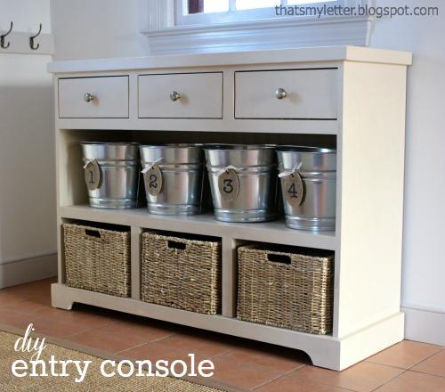 Entryway Console