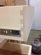 Drawer Dovetail Close up