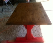 6 foot version of Ana-White farmhouse table