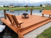 Dock finished using the Deck Jig!