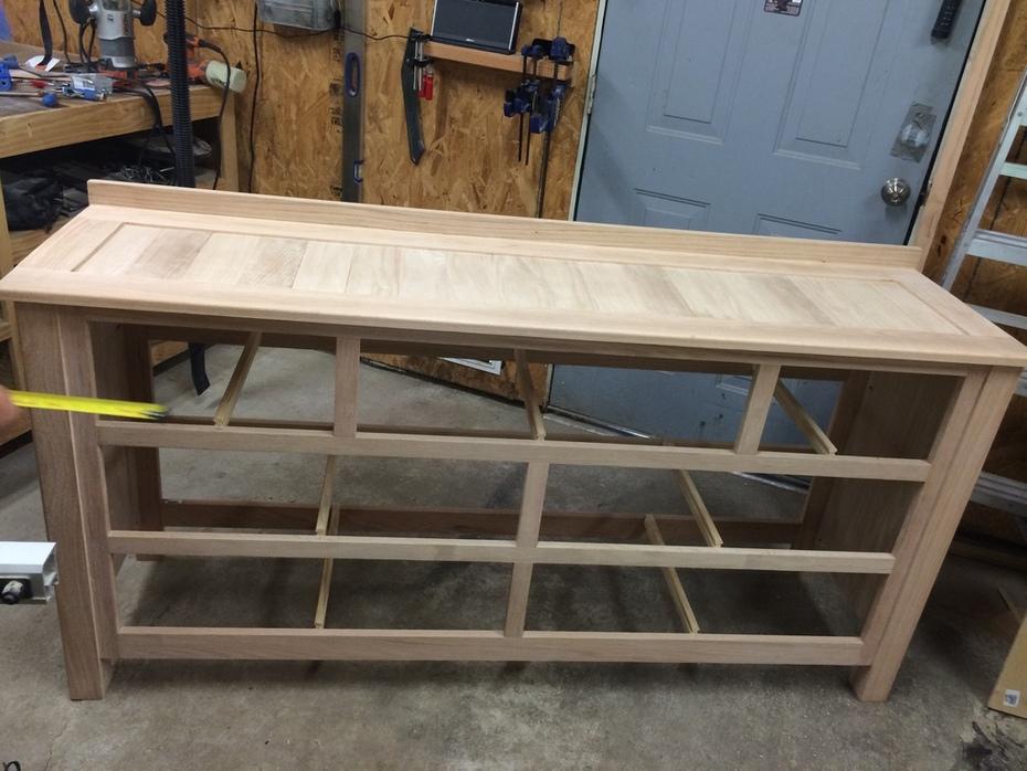 Dresser frame/top