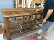 Dresser Frame/ top Stained