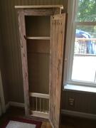 "Dumpster ""Rainbow"" Wood becomes Leash Locker"