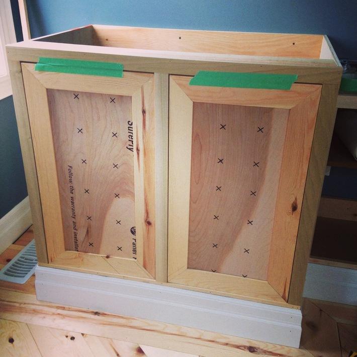 DIY doors mitered shaker style