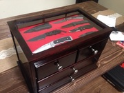 Knife Display Chest