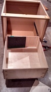 Office cabinet, shelf and desk builtin