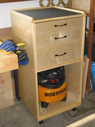 Movable Tool Storage Cart