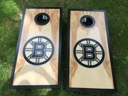Boston Bruins cornhole