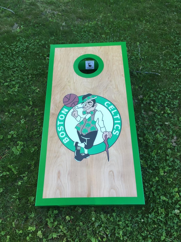 Boston Celtics cornhole