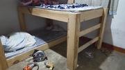 Three-bed bunk
