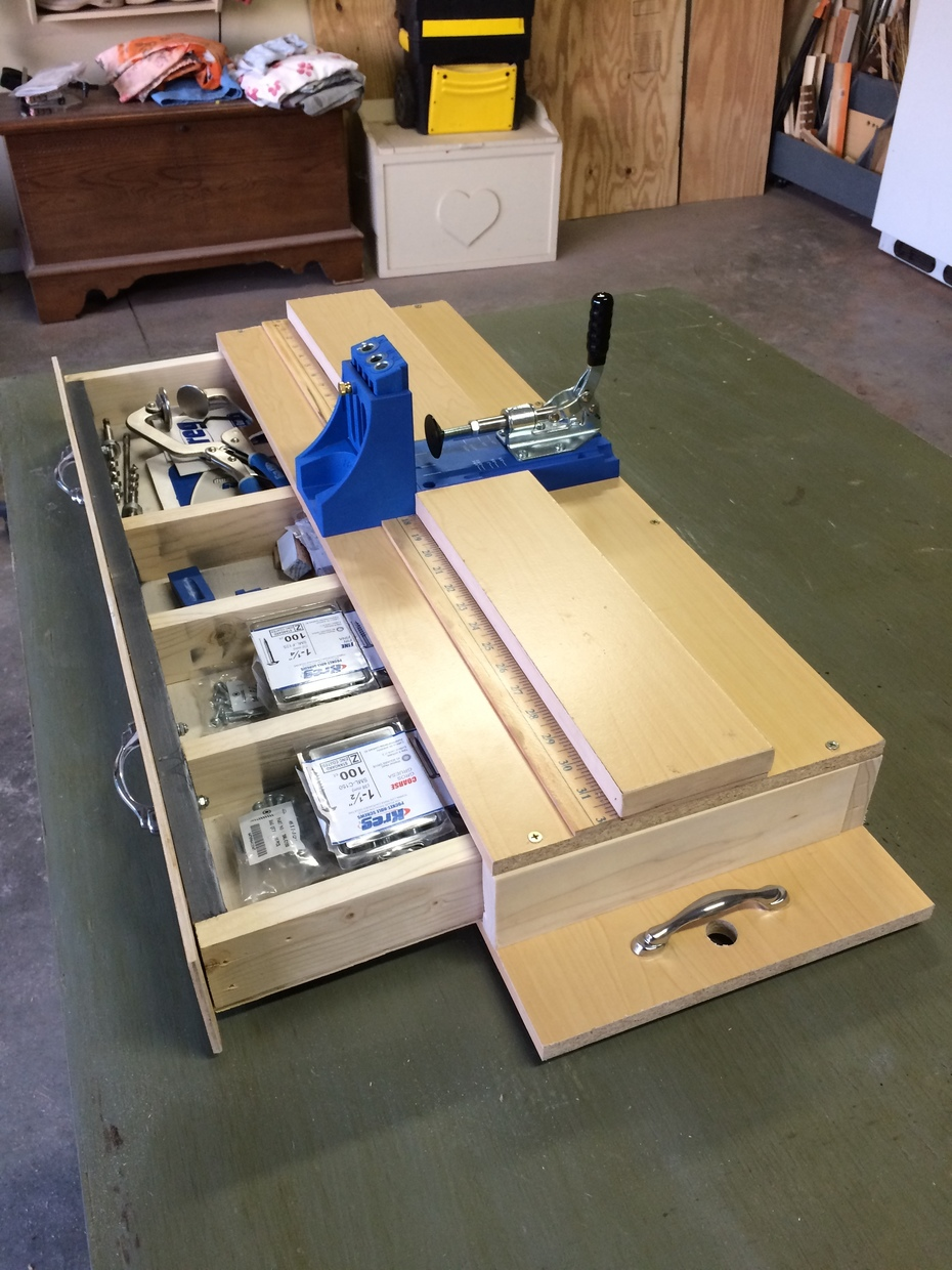 DIY Kreg jig unit 4