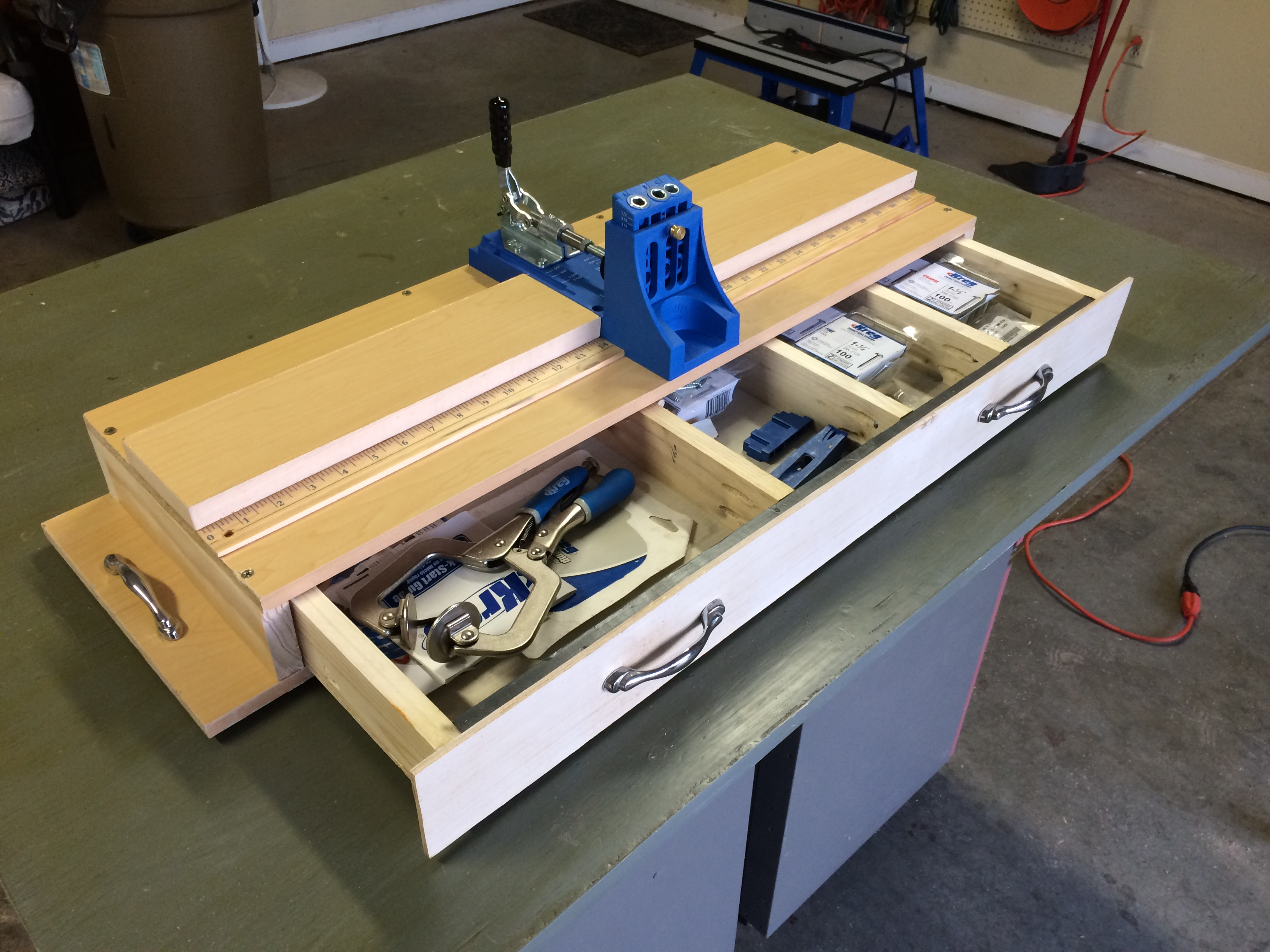 DIY Kreg jig unit 2
