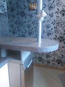 Shelf for Dishwasher + Bar on Top