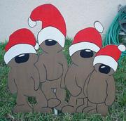 Christmas Yard Art