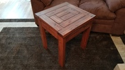 2x4 End table with English chestnut stain