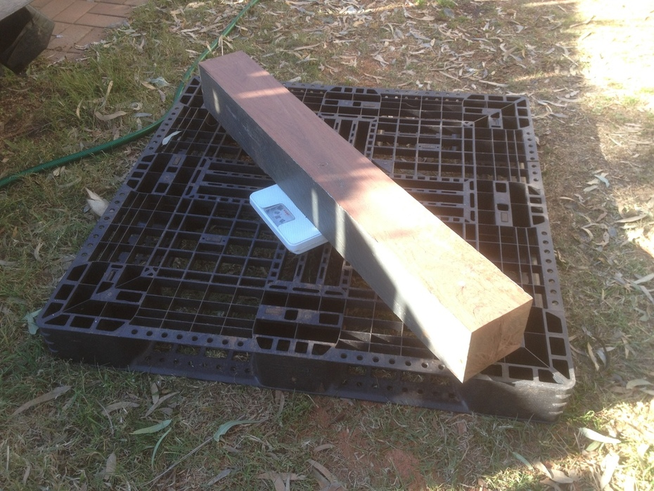 Red ironbark weigh in 1a
