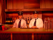 Bartenders at Commissioners Ball