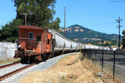Caboose Past Mt. Burdell