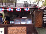 Haring kraam in Vannes la Semaine du Golf Morbihan