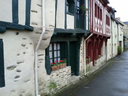 De mooie straatjes in Josselin