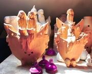 Sculptures céramique.