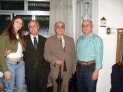 Prs.Dilson, Iguassu, Decio e sobrinha Mariana