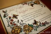 Delightful Wedding Invitation