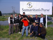 NA BASE DO SAMARITAN´S PURSE INTERNATIONAL RELIEF