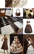 Chocolate & Ivory Inspiration Board