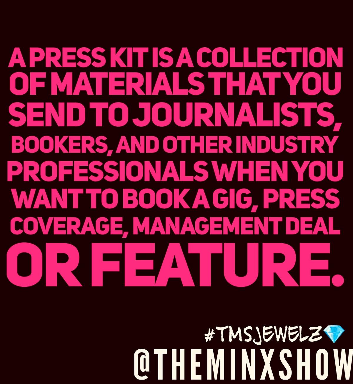 Are Press Kits Really Relavant?