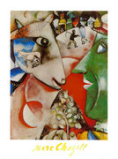 I and the village. Marc Chagall