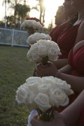 White Rose Bouquets